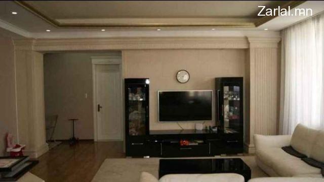 4 өрөө бүрэн тавилгатай байр урт хугацаагаар түрээслүүлнэ.